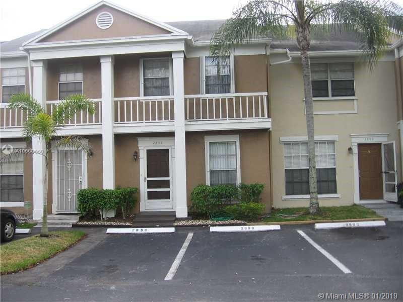 2856 S Cambridge Ln Unit 2856, Cooper City, Florida 33026