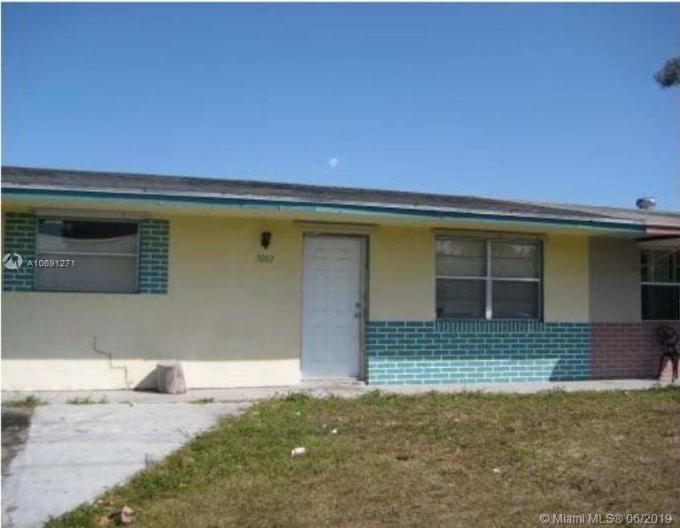 7003 SW 19th Mnr, North Lauderdale, Florida 33068