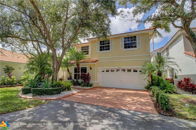 Emerald Isle, 874 Garnet Cir, Weston, Florida 33326