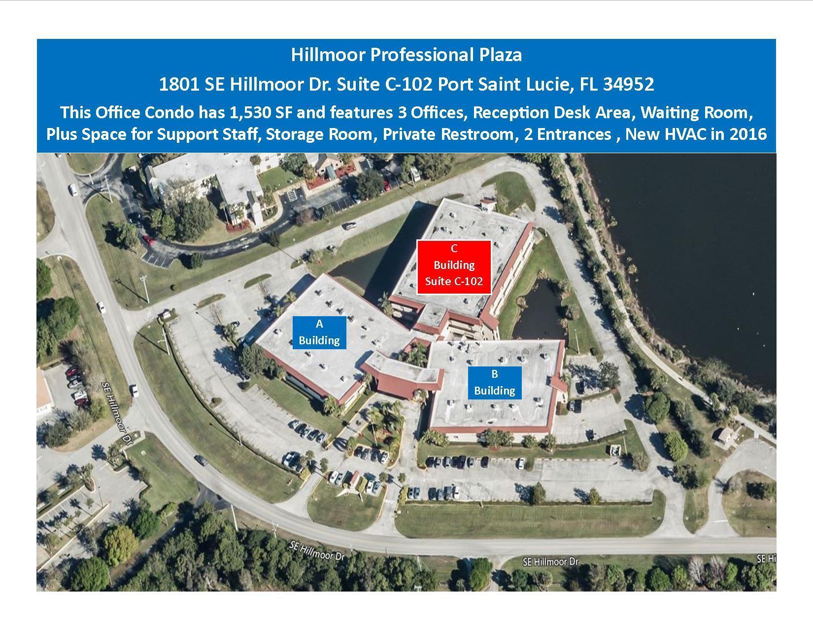 1801 SE Hillmoor Unit C-102, Port Saint Lucie, Florida 34952